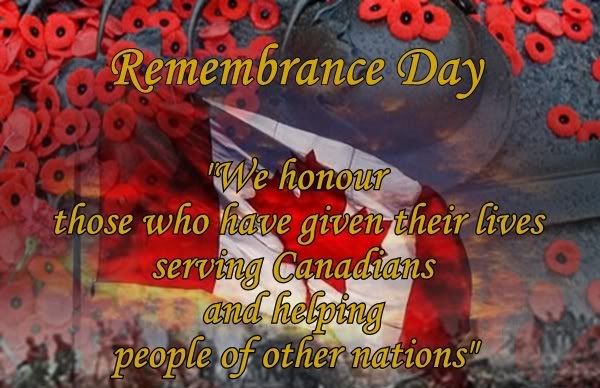Observance Of Remembrance Day 2018 In Canada
