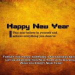 Advance Happy New Year Wishes for Canadian