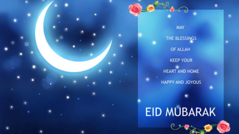 Happy Eid Mubarak Greeting Wishes