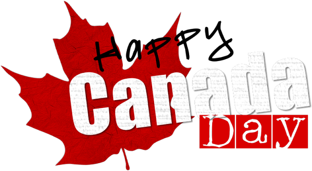 Happy Canada Day Clipart