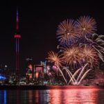 Happy Canada Day Fireworks Toronto
