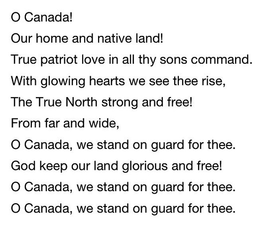 Canada Day Poem Image