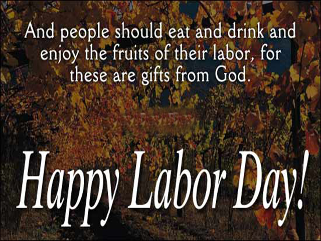 Labor Day Messages