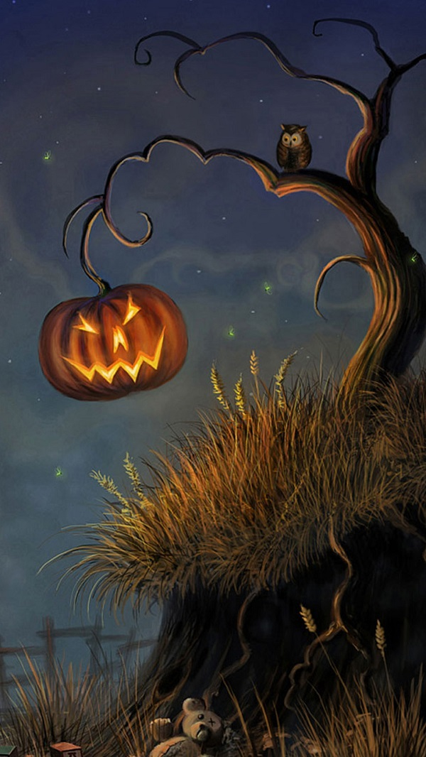 Download Scary Halloween iPhone Background