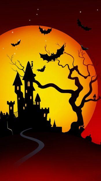 Free Halloween iPhone Wallpaper Background