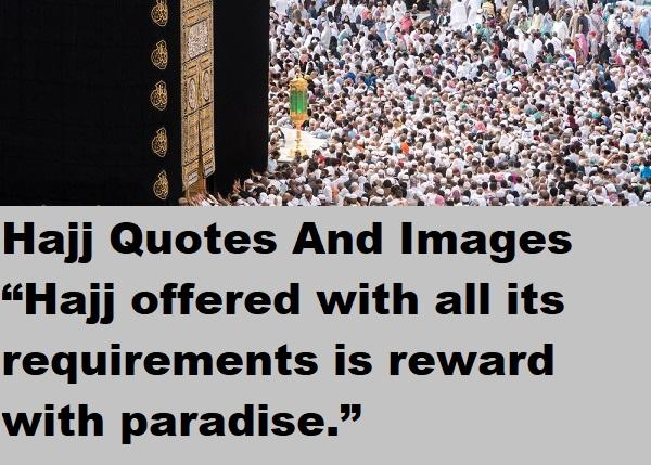 Hajj Mubarak Images Quotes