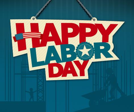 Happy Labor Day Celebration
