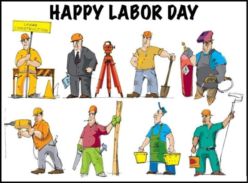 Happy Labor Day Clipart Images