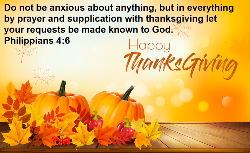 Bible Verses For Thanksgiving