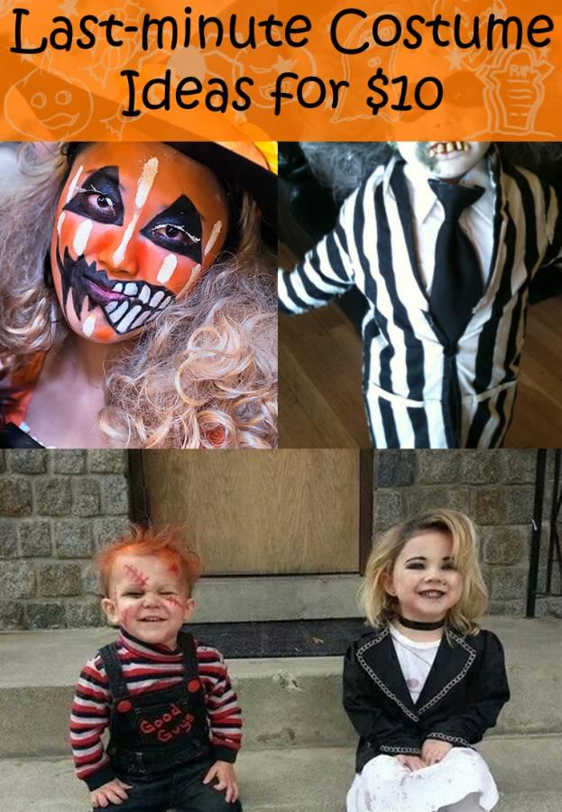 Lazy Last Minute Halloween Costume Ideas