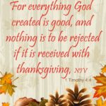 Thanksgiving Messages to God