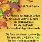 Happy Thanksgiving Prayer