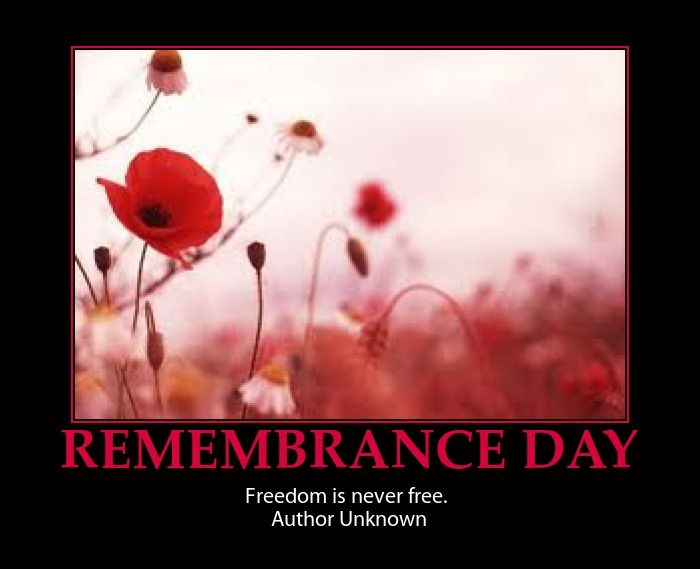 Remembrance Day Quotes and Sayings