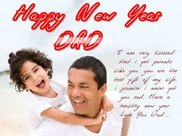 Happy New Year  Wishes for Father