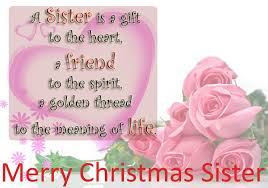 Best Merry Christmas Wishes Messages for Sister