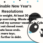 Happy New Year Funny Resolutions