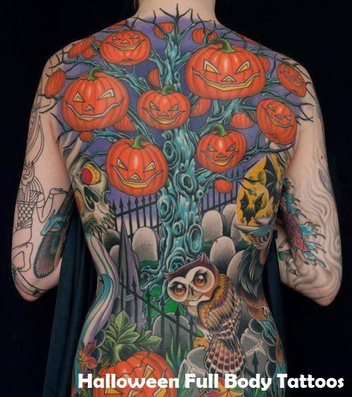Halloween Tattoos.Get Amazing Spooky Halloween Tattoos Ideas 2021
